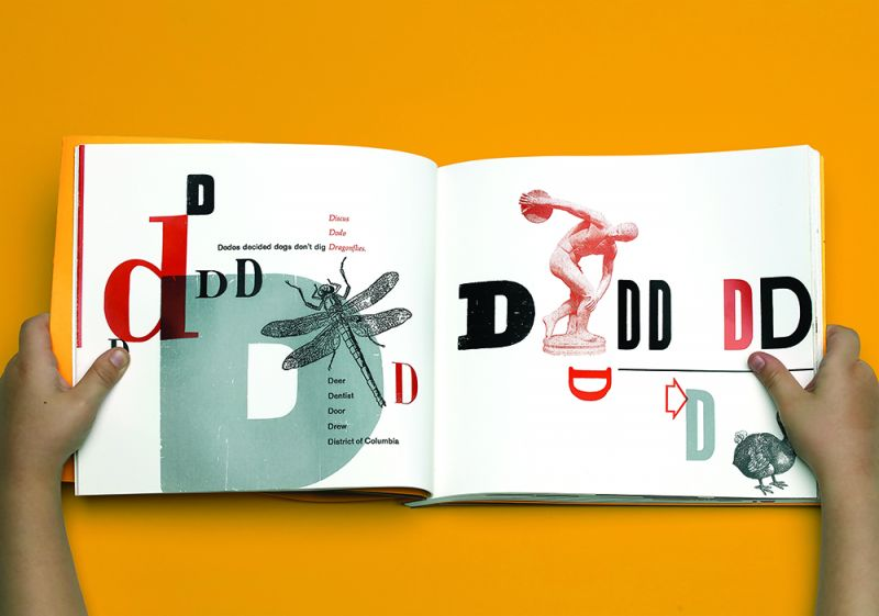page spread from Drew's ABCs