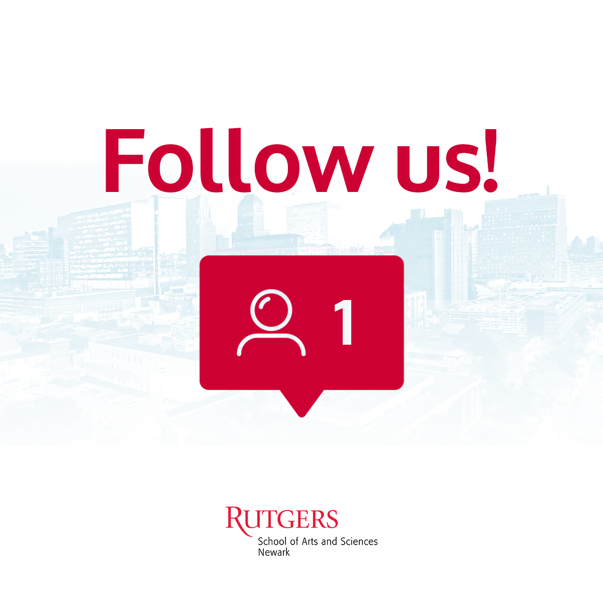 Follow us @RutgersSASN