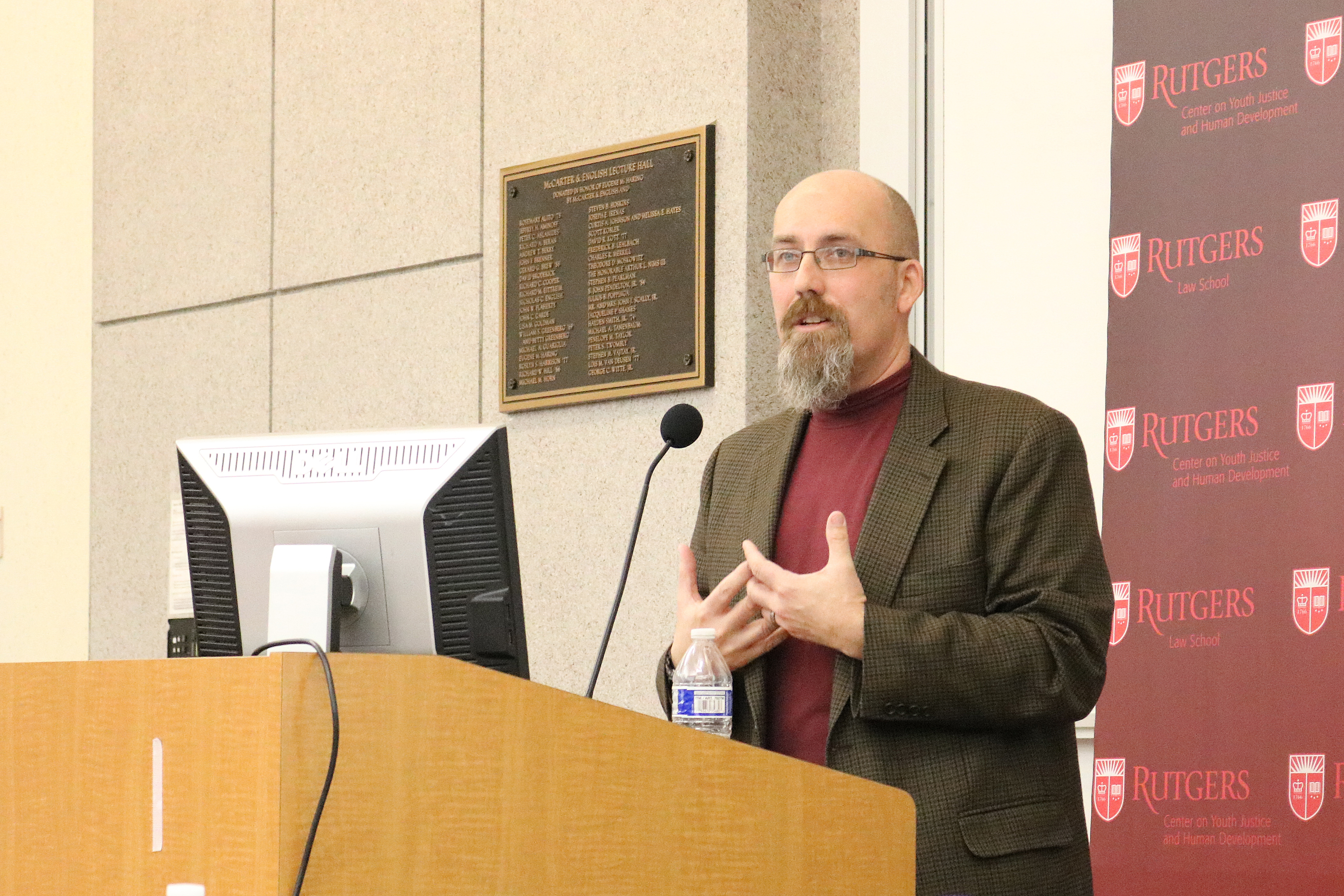 Paul Boxer, co-director of the Center on Youth Justice and Human Development