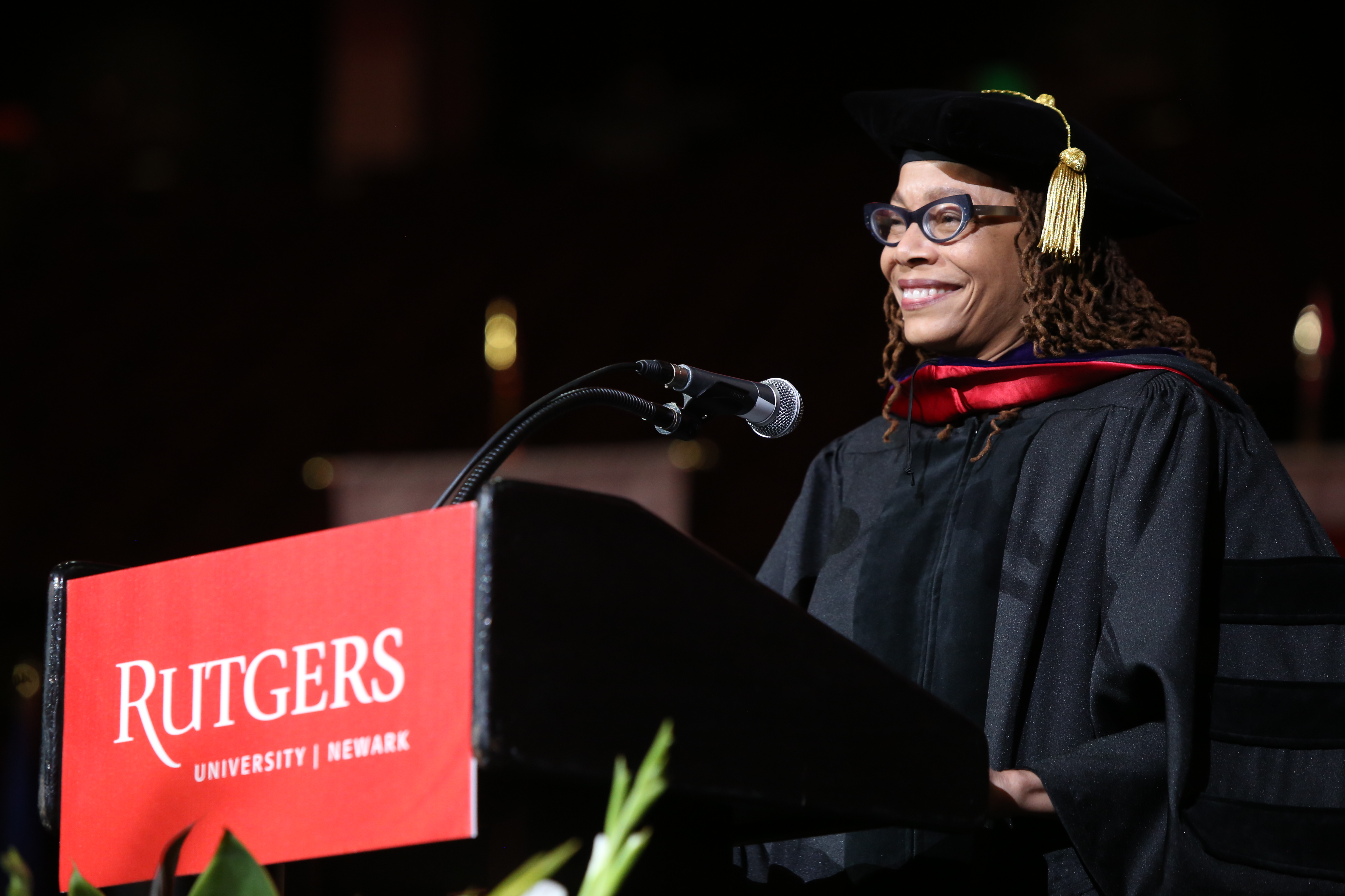 Dorothy Roberts calls on the graduates to imagine, create a better world.