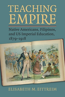 Book cover for teaching empire
