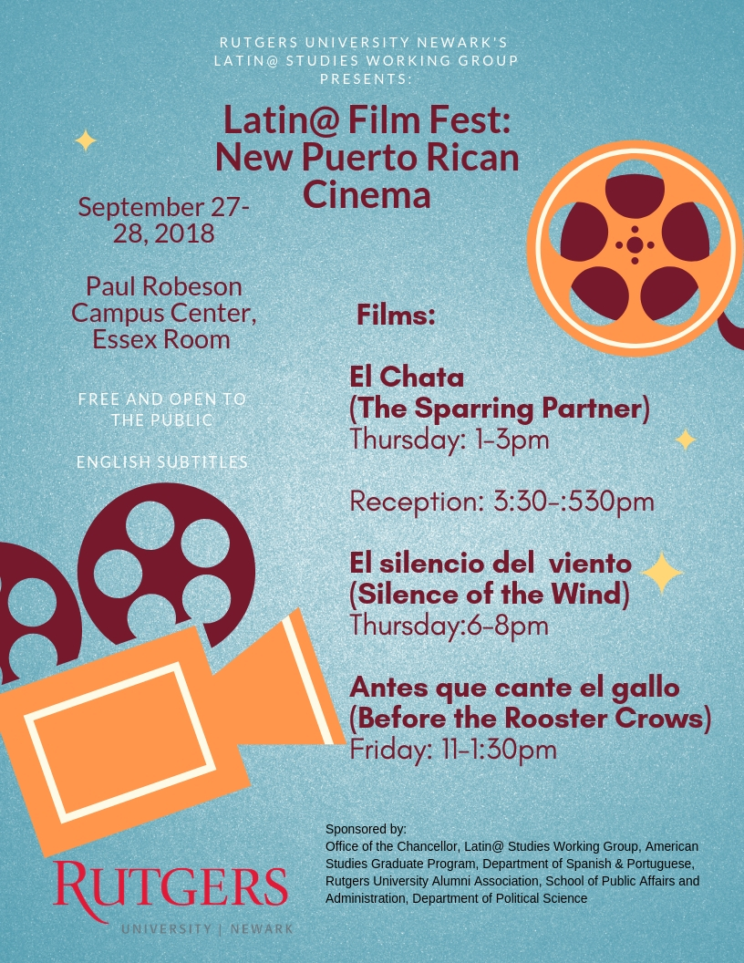Latino Film Festival flyer