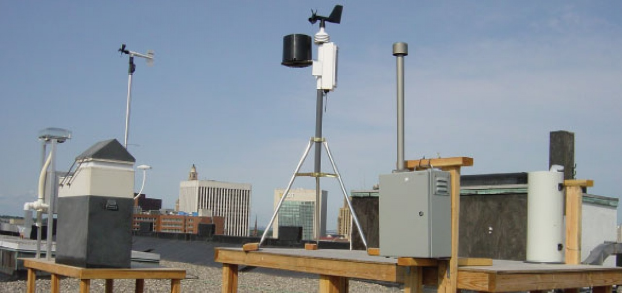 Air Quality Measurements in Newark