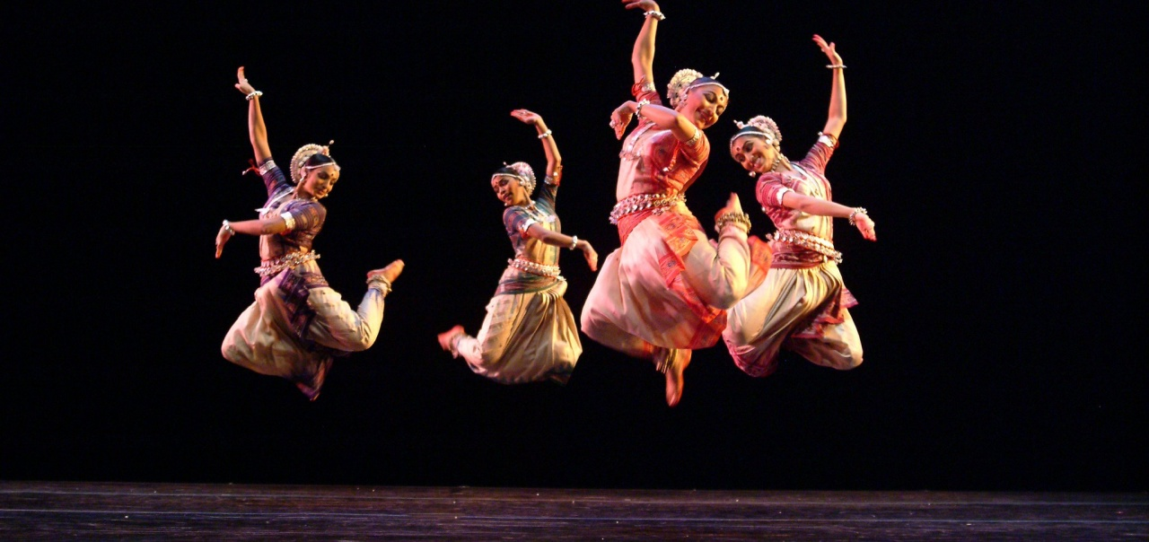 Nrityagram Dance Ensemble performing onstage