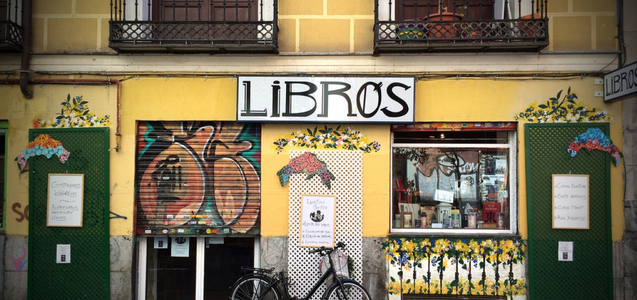 Spanish-language bookshop