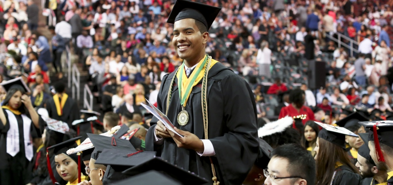Honors Student at Commencement 2019
