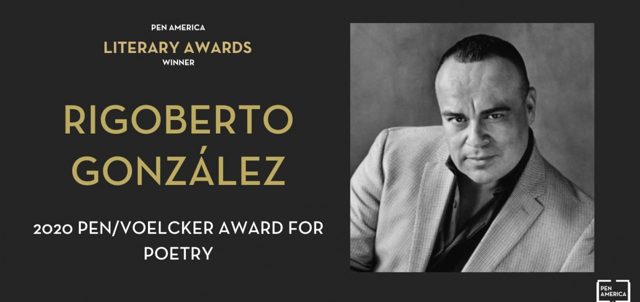 Rigoberto 2020 Pen/Voelcker Award for Poetry winner