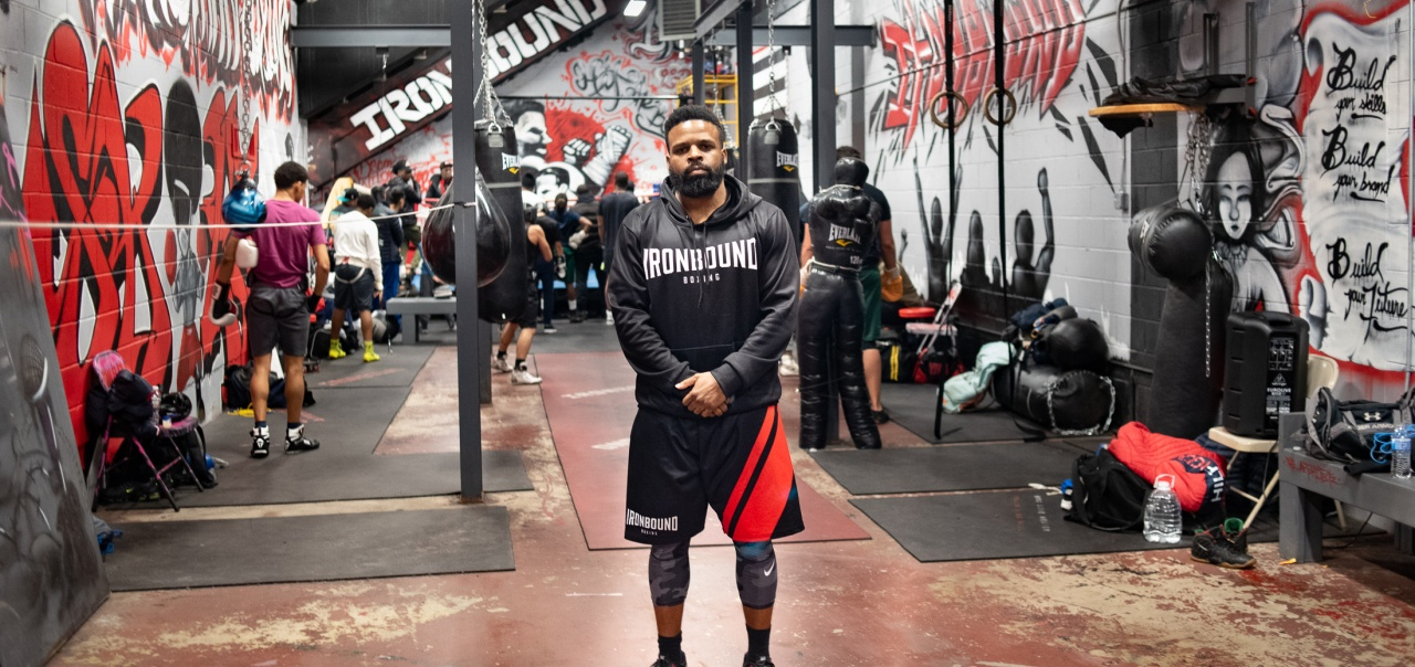 Mike Steadman at Ironbound Boxing Academy