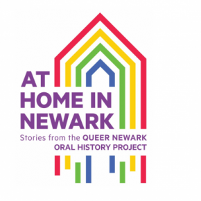 Queer Newark Oral History Project logo