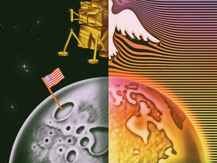Neil Maher NYT graphic of moon