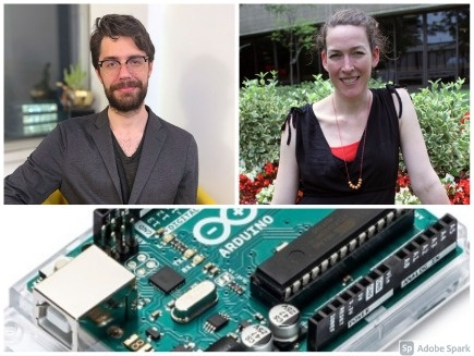 Colin Kinz-Thompson, Jenny Lockard, Arduino circuit