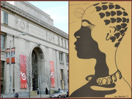 Enoch Pratt library exterior and Chicory cover