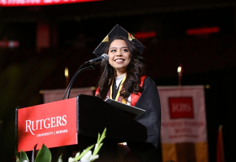 Christine Bernadette Beltran Garcia, 2019 RU-N Commencement: Anthony Alvarez Photographer